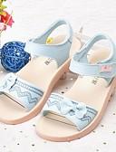 ieftine Lenjerie la Modă-Fete Pantofi Piele Primavara vara Confortabili Sandale Funde pentru Copii Alb / Albastru / Roz