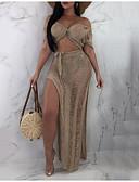 povoljno Ženski dvodijelni kostimi-Žene Set - Jednobojni Suknja