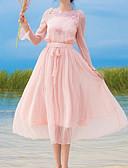 ieftine Tricou-Pentru femei Swing Rochie Stil Nautic Midi