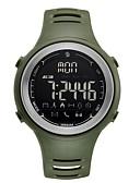 abordables Relojes Deportivo-Hombre Reloj Deportivo Digital 50 m Resistente al Agua Bluetooth Calendario Caucho Banda Digital Casual Moda Negro / Trébol - Negro Verde Un año Vida de la Batería / LCD / Fase lunar