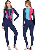 זול 2017ביקיני ובגדי ים-בגדי ריקוד נשים חליפת בגד גוףחליפת צלילה ייבוש מהיר, מתיחה ניילון / ספנדקס גוף מלא בגדי ים ביגוד חוף חליפות צלילה
