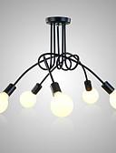 hesapli Romantik Dantel-5-Işık Sıva Altı Monteli Ortam Işığı Boyalı kaplamalar Metal 110-120V / 220-240V Ampul dahil değil / E26 / E27