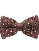 ieftine Cravate & Papioane de Bărbați-Unisex Buline / Imprimeu / Bloc Culoare Funde Petrecere / De Bază Papion Cravată