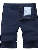povoljno Muške duge i kratke hlače-Muškarci Osnovni Sportske hlače Hlače Jednobojni