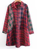 זול חליפות שני חלקים לנשים-מעל הברך שמלה חולצה בסיסי בגדי ריקוד נשים