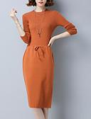 povoljno Ženske haljine-Žene Izlasci A kroj Haljina Do koljena Visoki struk