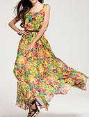 povoljno Maxi haljine-Žene Plaža Swing kroj Haljina S naramenicama Maxi Visoki struk
