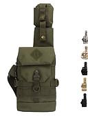 billige Jeans-6 L Skulderveske - Anvendelig Utendørs Vandring, Camping, Militær Oxford Militærgrønn, Kamuflasje, Kakifarget