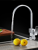 preiswerte Exotische Herrenunterwäsche-Armatur für die Küche - Moderne Chrom Hoch / High-Arc Mittellage