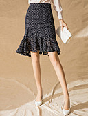 povoljno Ženske suknje-Žene Sirena kroj Ulični šik Suknje - Geometrijski oblici