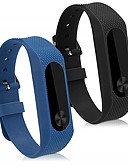 hesapli Smartwatch Bantları-Watch Band için Mi Band 2 Xiaomi Spor Bantları Silikon Bilek Askısı