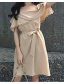 preiswerte Cocktailkleider-Damen Etuikleid Kleid Knielang