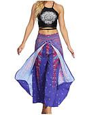 tanie Damskie spodnie-Damskie Podstawowy Spodnie szerokie nogawki Spodnie Geometric Shape