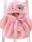 povoljno Vanjska odjeća za bebe-Dijete Djevojčice Osnovni Jednobojni Dugih rukava Jakna i kaput / Dijete koje je tek prohodalo