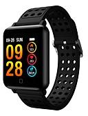 cheap One-piece swimsuits-Smartwatch M19 Women Men Heart Rate Blood Pressure Bluetooth waterproof Sport Smart Bracelet  for Android iOS