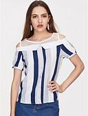 זול שמלות נשים-אחיד וינטאג' טישרט - בגדי ריקוד נשים פרנזים מנוף