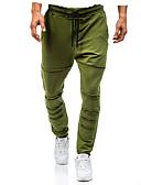 זול טישרטים לגופיות לגברים-בגדי ריקוד גברים סגנון סיני מידות גדולות כותנה משוחרר מכנסי טרנינג מכנסיים אחיד