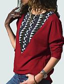ieftine Hanorace de Damă-Pentru femei Pantaloni - Bloc Culoare Mov M