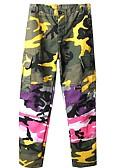 cheap Men's Pants & Shorts-Men's Military Chinos Pants - Camouflage Patchwork / Print