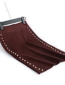 tanie Damska spódnica-Damskie Bodycon Spódnice - Praca Solidne kolory