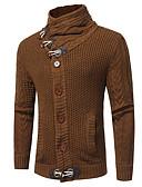ieftine Jachete & Paltoane Bărbați-Bărbați De Bază Cardigan - Mată