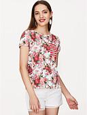 preiswerte Damen Pullover-Damen Blumen - Grundlegend T-shirt