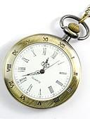 povoljno Muški satovi-Muškarci Džepni sat Sat ogrlica Šiljci za meso Zlatna Casual sat Cool Analog Vintage Ležerne prilike 1920-te Moda Aristo - Zlato