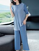 ieftine Bluză-Pentru femei Activ / De Bază Bluză - Dungi, Pantaloni