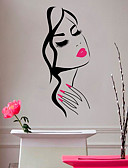 preiswerte Damen Socken & Strumpfwaren-Dekorative Wand Sticker - 3D Wand Sticker / Menschen Wandaufkleber Formen / Prinzessin Wohnzimmer / Schlafzimmer