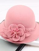 billige Hatter til damer-Andre Material Hatter med Blomst 1pc Bryllup / Fest / aften Hodeplagg