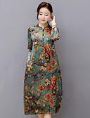 זול שמלות נשים-צווארון V מידי שמלה נדן בגדי ריקוד נשים