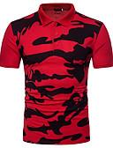povoljno Muške polo majice-Polo Muškarci - Osnovni Vikend kamuflaža