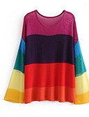 cheap Men's Hoodies & Sweatshirts-Women's Basic Pullover - Color Block