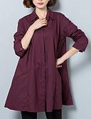 ieftine Bluze de Damă-Pentru femei Guler Cămașă Cămașă Muncă Mată