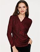 olcso Divatos övek-Alap V-alakú Női Póló
