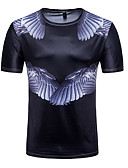 ieftine Maieu & Tricouri Bărbați-Bărbați Tricou Activ / Șic Stradă - Animal