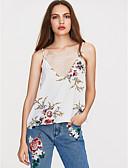 cheap Women's Two Piece Sets-Women's Basic T-shirt - Floral