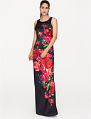 povoljno Maxi haljine-Žene Party Ulični šik Slim Swing kroj Haljina Cvjetni print Maxi