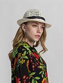 baratos Chapéus Femininos-Mulheres Básico Cloche Estampado