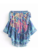 povoljno Ženske hlače-Žene Bodycon Pamuk Suknje - Jednobojni / Geometrijski oblici