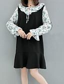 povoljno Ženske haljine-Žene Izlasci Slim Korice Haljina Uski okrugli izrez Iznad koljena