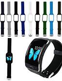 hesapli Smartwatch Bantları-Watch Band için Gear S R750 Samsung Galaxy Spor Bantları Silikon Bilek Askısı