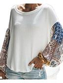 povoljno Majica s rukavima-Majica s rukavima Žene - Ulični šik Dnevno Color block