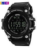cheap Military Watches-SKMEI Men's Women's Sport Watch Digital Watch Digital 30 m Water Resistant / Water Proof Bluetooth Calendar / date / day Silicone Band Digital Casual Fashion Black / Red - Black Red Blue