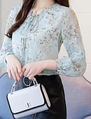 ieftine Tricou-bluza pentru femei - gât rotund floral