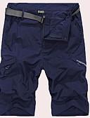 povoljno Muške duge i kratke hlače-Muškarci Ulični šik Kratke hlače Hlače - Jednobojni Lila-roza