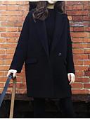 ieftine Fuste de Damă-Pentru femei Jachetă Ieșire Mată