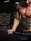 رخيصةأون ملابس داخلية غير مألوفة للرجال-جهاز تحفيز Abs لعضلات البطن / حزام التنغيم البطن / EMS أب المدرب مع 6 pcs Smart, إلكتروني, أجهزة تقوية العضلات تقوية العضلات, البطن الدهون الموقد, التدريب النهائي إلى عن على