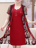 ieftine Costum Damă Două Bucăți-Pentru femei Bluză - Floral, Rochii