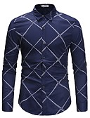 cheap Men's Shirts-Men's Basic Shirt - Striped
